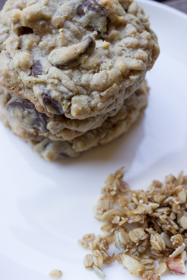 Granola Chip Cookies-8